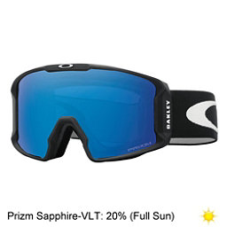Oakley Line Miner Prizm Goggles 2018, Matte Black-Prizm Sapphire Iri, 256