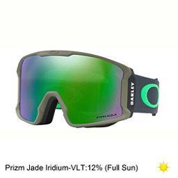 Oakley Line Miner Prizm Goggles, Canteen Iron-Prizm Jade Iridium, 256