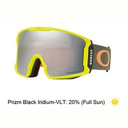 Oakley Line Miner Prizm Goggles, Obsessive Lines Laser-Prizm Black Iridium, 256