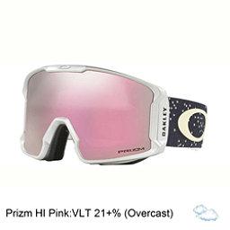 Oakley Line Miner Prizm Goggles 2018, Galaxy Iron Ice-Prizm Hi Pink Iridium, 256