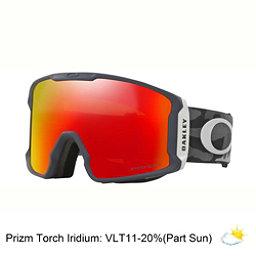 Oakley Line Miner Prizm Goggles, Night Camo-Prizm Torch Iridium, 256