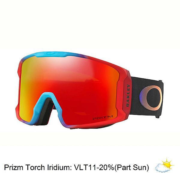 Oakley Line Miner Prizm Goggles 2018, Prizm Halo 2018-Prizm Torch Iridium, 600