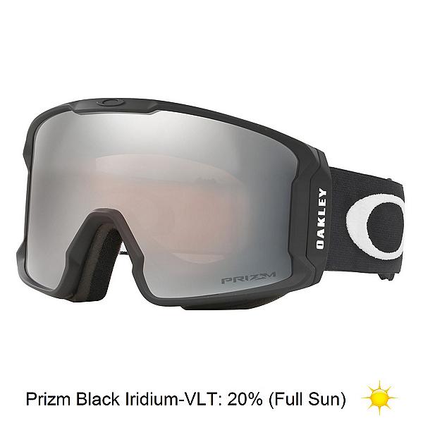 Oakley Line Miner Prizm Goggles 2020, Matte Black-Prizm Black Iridiu, 600