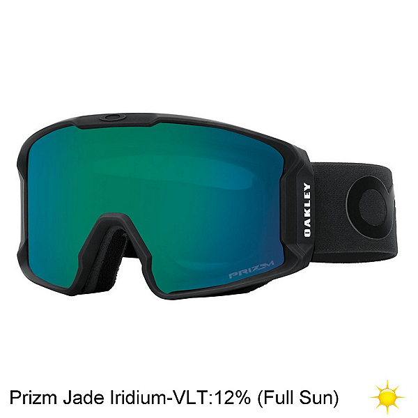 Oakley Line Miner Prizm Goggles 2020, Factory Pilot Blackout-Prizm J, 600