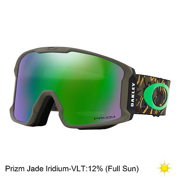 Oakley Line Miner Prizm Goggles, Camo Vine Jungle-Prizm Jade Ir, 600