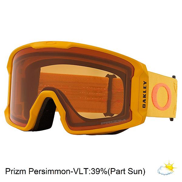 Oakley Line Miner XL Prizm Goggles, Prizm Icon Mustard Orange-Pzps, 600