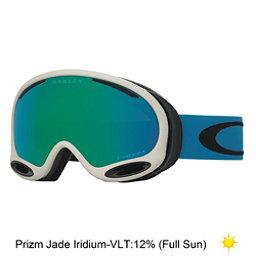 Oakley A Frame 2.0 Prizm Goggles, Oxide Legion Blue-Prizm Jade Iridium, 256