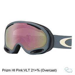Oakley A Frame 2.0 Prizm Goggles, Distressed Paint Pink Oxide-Vr, 256