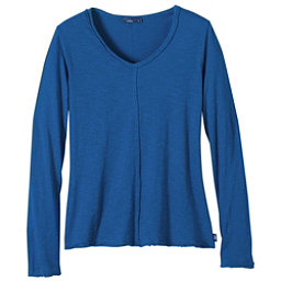 Prana Romina Womens Shirt, Vintage Cobalt, 256
