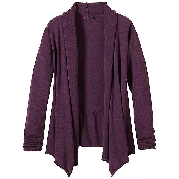 Prana Georgia Wrap Womens Sweater, Grapevine, 600
