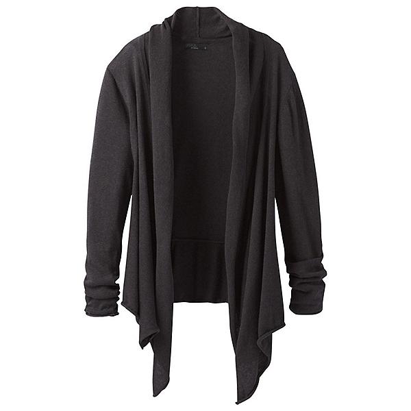 Prana Georgia Wrap Womens Sweater, Black, 600