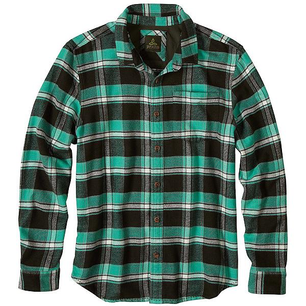 Prana Channing Flannel Flannel Shirt, Dark Olive, 600