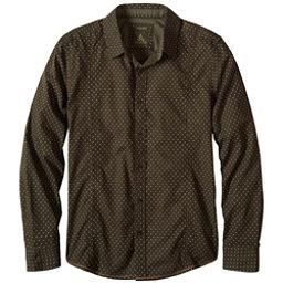 Prana Lukas Slim Mens Shirt, Dark Olive, 256
