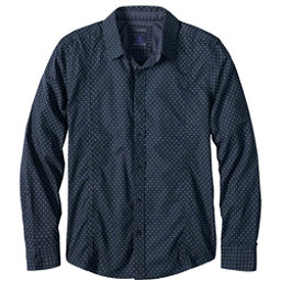 Prana Lukas Slim Mens Shirt, Nautical, 256