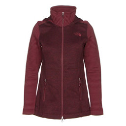 The North Face Indi Hoodie Parka (Previous Season), Deep Garnet Red Heather-Deep G, 256