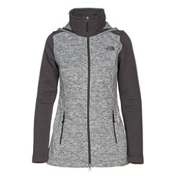 The North Face Indi Hoodie Parka (Previous Season), Lunar Ice Grey Heather-Asphalt, 256