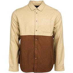 United By Blue Banff Colorblock Wool Mens Shirt, Tan-Brown, 256