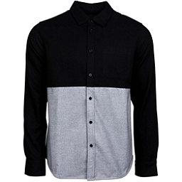 United By Blue Banff Colorblock Wool Mens Shirt, Black-Grey, 256