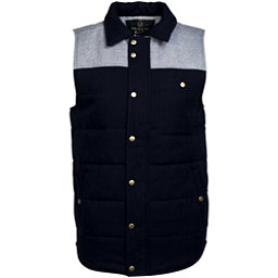 United By Blue Drummond Colorblock Vest, Grey-Navy, 256