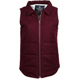 United By Blue Martel Wool Vest Womens Vest, Oxblood, 256