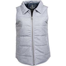 United By Blue Martel Wool Vest Womens Vest, Grey, 256