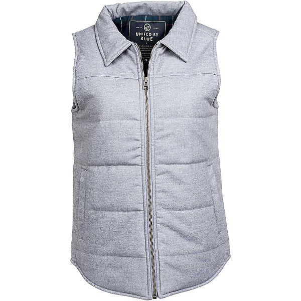United By Blue Martel Wool Vest Womens Vest, Grey, 600