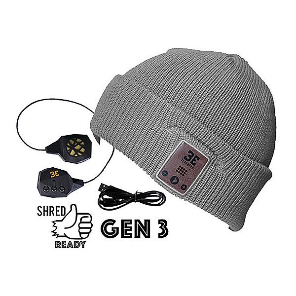 BE Headwear Diver Down Bluetooth Hat, Ash Grey, 600