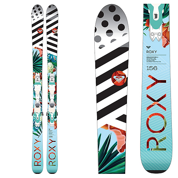 Roxy Dreamcatcher 75 Womens Skis with Xpress 11 Bindings, , 600