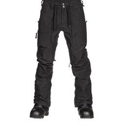 Burton Southside Slim Fit Mens Snowboard Pants, True Black, 256