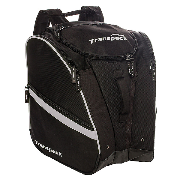 Transpack TRV Pro Ski Boot Bag 2019, Black-Silver Electric, 600