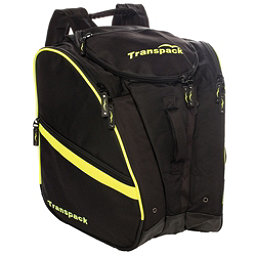 Transpack TRV Pro Ski Boot Bag 2018, Black-Yellow Electric, 256