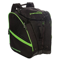 Transpack TRV Pro Ski Boot Bag 2018, Black-Lime Electric, 256