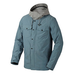 Oakley Division BioZone Mens Insulated Snowboard Jacket, Blue Mirage, 256