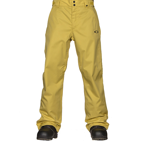 Oakley Sun King BioZone Shell Mens Snowboard Pants, Citrus, 600