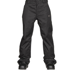 Oakley Sun King BioZone Shell Mens Snowboard Pants, Jet Black, 256