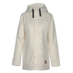 Oakley Moonshine BZI Womens Insulated Snowboard Jacket, Arctic White, 256