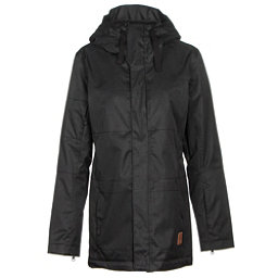 Oakley Moonshine BZI Womens Insulated Snowboard Jacket, Jet Black, 256