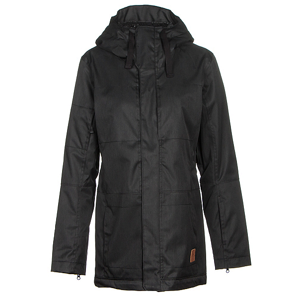 Oakley Moonshine BZI Womens Insulated Snowboard Jacket, Jet Black, 600