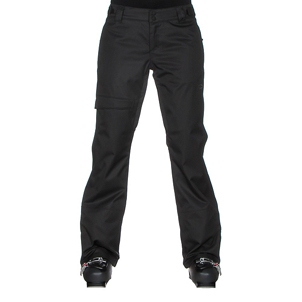 Oakley Limelight BZS Womens Snowboard Pants, Jet Black, 600