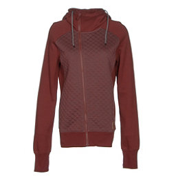 Oakley Sundown Womens Hoodie, Fired Brick, 256
