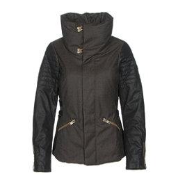 Sorel Joan Of Arctic Womens Jacket, Olive Heather-Black, 256