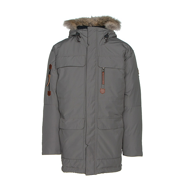 Sorel Mens Caribou Parka, Quarry, 600
