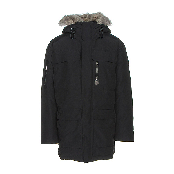 Sorel Mens Caribou Parka, Black, 600