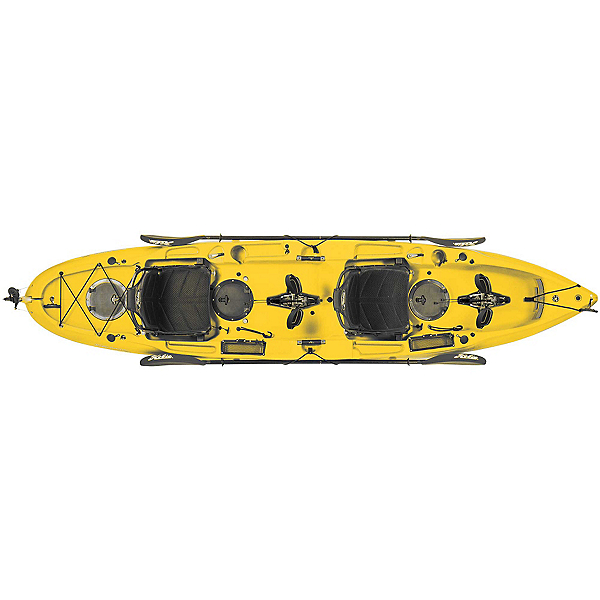 Hobie Mirage Outfitter Kayak, Papaya, 600