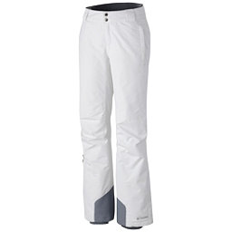 Columbia Bugaboo Omni-Heat Short Womens Ski Pants, White, 256