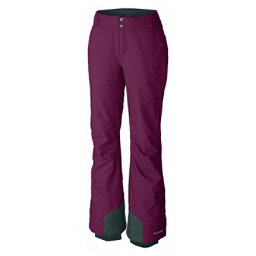 Columbia Bugaboo Omni-Heat Short Womens Ski Pants, Dark Raspberry, 256