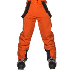 KJUS Vector Boys Ski Pants, Kjus Orange, 256