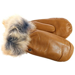 UGG Leather Womens Mitten, Chestnut, 256