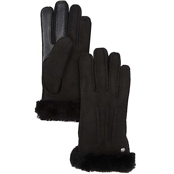 UGG Carter Touch Womens Gloves, Black, 600