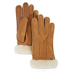 UGG Carter Touch Womens Gloves, Chestnut, 256